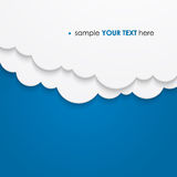 Abstract cloud background royalty free illustration