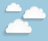 Abstract Cloud Background Vector Illustration Royalty Free Stock Photography