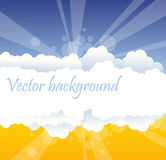 Abstract cloud background Stock Photo