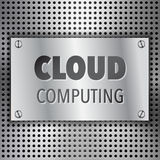 Abstract Cloud Computing concept background Stock Photography