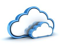 Abstract cloud Royalty Free Stock Photo