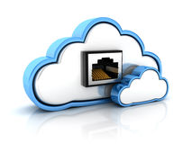 Abstract cloud Stock Photos