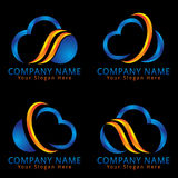 Abstract Cloud Technology Modern Concept Royalty Free Stock Photography