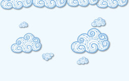 Abstract clouds Royalty Free Stock Images