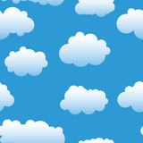 Abstract clouds background. Stock Photography