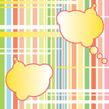 Abstract clouds. Vector background. Royalty Free Stock Photography