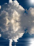 Abstract cloudscape background Stock Photography