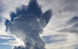 Abstract cloudscape in the sky of Rurrenabaque, Bolivia Stock Photo