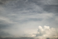 Abstract cloudy sky background Royalty Free Stock Photo