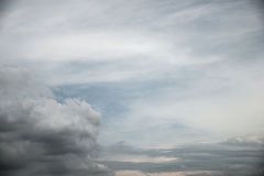 Abstract cloudy sky background Royalty Free Stock Photos
