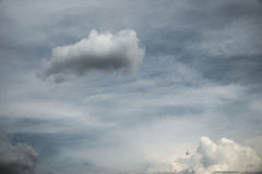 Abstract cloudy sky background Stock Image
