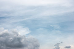 Abstract cloudy sky background Stock Photo