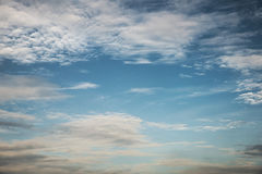 Abstract cloudy sky background Royalty Free Stock Photography