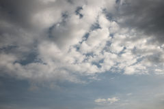 Abstract cloudy sky background Stock Photos