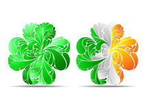 Abstract Clover Royalty Free Stock Images