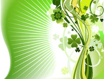 Abstract clover background Stock Images