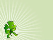 Abstract Clovers  Background Vector Illustration Stock Photography