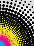 Abstract cmyk background Stock Photos