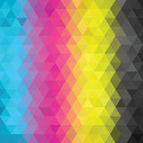 Abstract CMYK color Stock Image