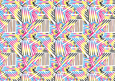 Abstract CMYK Pattern Background Textures. Object vector illustration