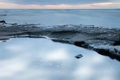 Abstract Coastal Blurs Royalty Free Stock Photos