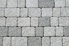 Abstract cobblestone pavement texture Stock Photo