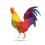 Abstract cock Stock Photo