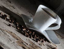 Abstract coffee. Royalty Free Stock Photos