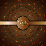 Abstract coffee design Stock Photos