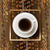 Abstract coffee design Stock Photography