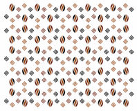Coffee pattern. Abstract coffee theme pattern background stock illustration