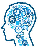 Abstract cognitive intelligence. Royalty Free Stock Photos