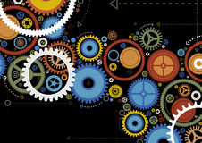 Abstract Cogs. Vector illustration of Abstract Cogs Stock Photos