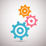 Abstract Cogs - Gears Royalty Free Stock Photos