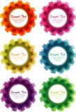 Abstract cogwheel background Stock Photography