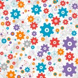 Abstract cogwheel background technology theme for your business. Stock Images