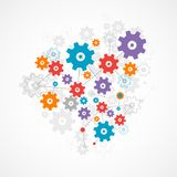 Abstract cogwheel background technology theme for your business. Stock Photography