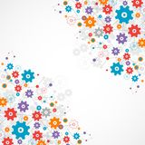 Abstract cogwheel background technology theme for your business. Royalty Free Stock Images