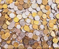 Abstract Coins background Royalty Free Stock Images