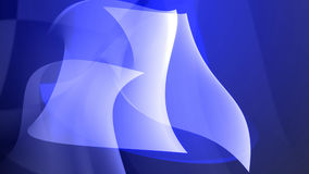 Abstract Cold blue shapes Royalty Free Stock Image