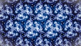 Abstract cold cool frozen blue pattern wallpaper. Stock Photography