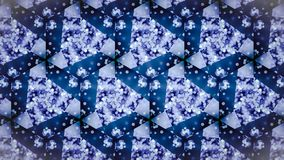 Abstract cold cool frozen blue pattern wallpaper. Stock Photo