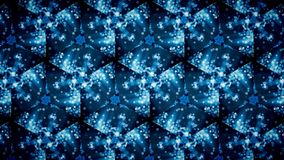 Abstract cold cool frozen blue pattern wallpaper. Royalty Free Stock Photography