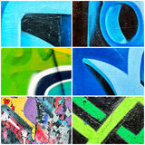 Abstract collage Royalty Free Stock Photos