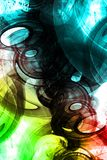 Abstract collage Stock Photography