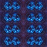 Abstract collage design from a blue color lights image, background and texture. Abstract collage design  color lights image background texture colorful backdrop stock illustration