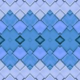 abstract collage design from an image of marble pieces in blue colors, background and texture royalty free illustration
