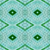 Abstract collage design from an image of marble pieces in green and blue colors, background and texture. Abstract collage design image marble pieces colors royalty free illustration