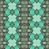 abstract collage design from an image of marble pieces in green colors, background and texture stock illustration
