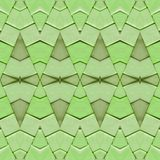 abstract collage design from an image of marble pieces in light green colors, background and texture stock illustration